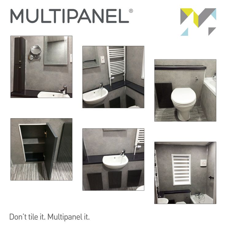 #TransformationTuesday Multipanel offers limitless stylish design options to suit your interior needs. With quick & easy installation, create a bathroom that you love. www.multipanel.co.uk
