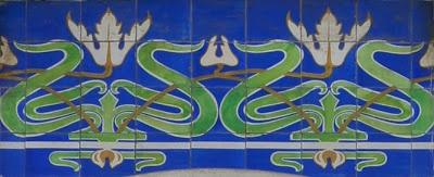Ernesto Korrodi - os azulejos [Edifício Zúquete, Praça Rodrigues Lobo, Leiria]