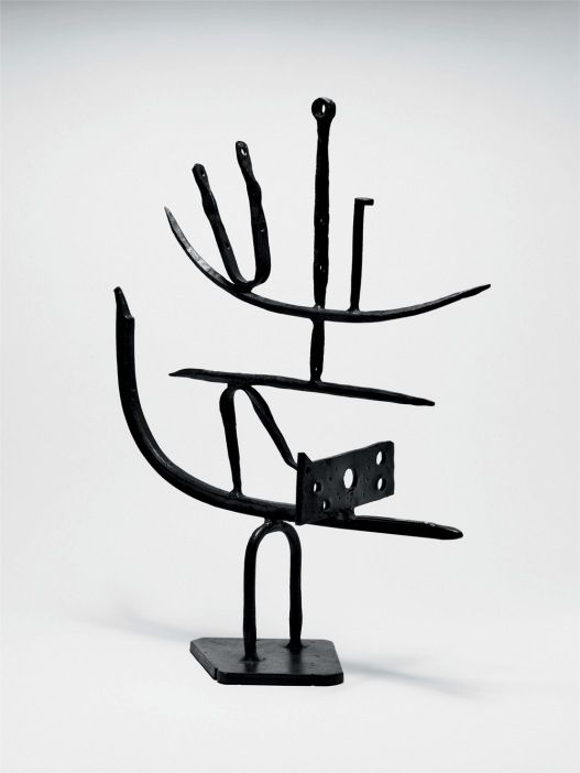 David Smith Agricola V 1952 Steel 90.2 x 71.1 cm Private collection © Photograph: David Heald © Estate of David Smith/VAGA, New York and DACS, London 2006