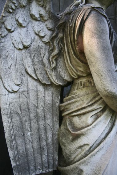 ",""Anatomy of an Angel,"" and was taken about two years ago at Cedar Hill cemetery in Hartford. Photographer Dan Cahill"