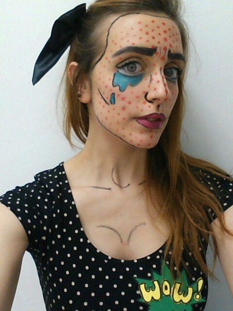 Pop art halloween costume