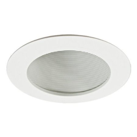 Amazon.com: Nora NTP-614 - 6 in. - White Phenolic Stepped Baffle for Sloped Ceiling: Lamps & Light Fixtures