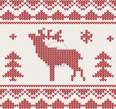 Simple Lace Knit Pattern : Intarsia Knitting Patterns Christmas - WoodWorking Projects & Plans