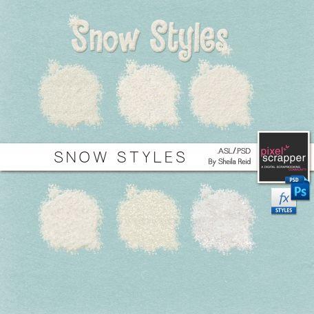 Snow Styles - Sheila Reid