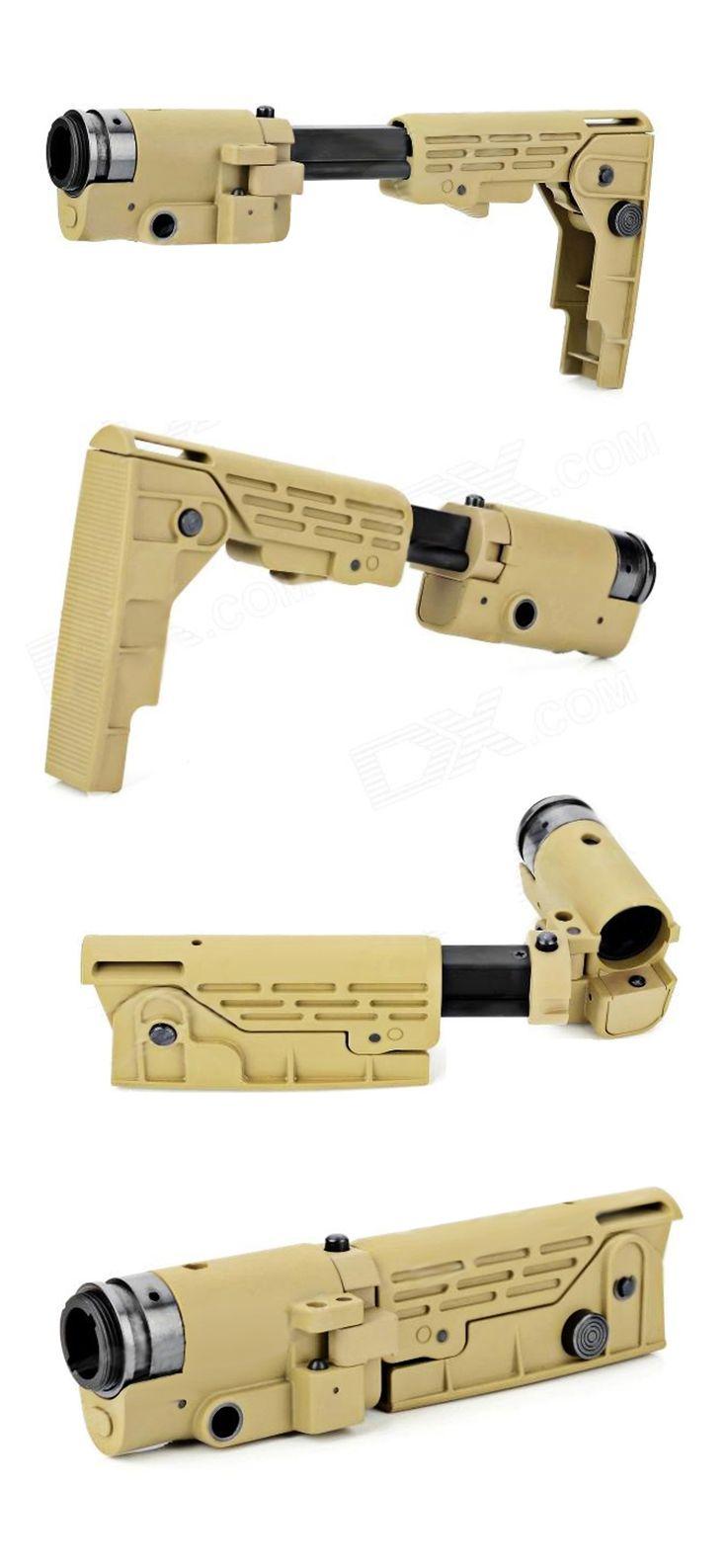 Retractable Folding Buttstock for M4_SR-16_SR-25 Series
