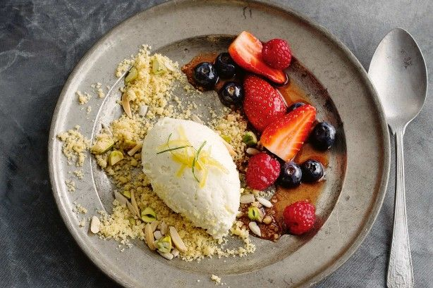 This isn't your traditional cheesecake – it has a twist on it to make it feel a little 'lighter', but it's certainly not any healthier!