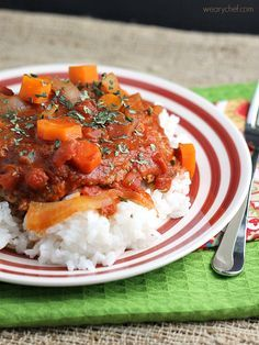 Despite the name, this Easy Swiss Steak tastes like All-American food to me. This hearty cube steak recipe is easy to make and low in fat too!