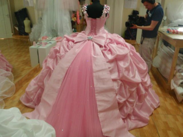 Image Result For Pink Wedding Dress