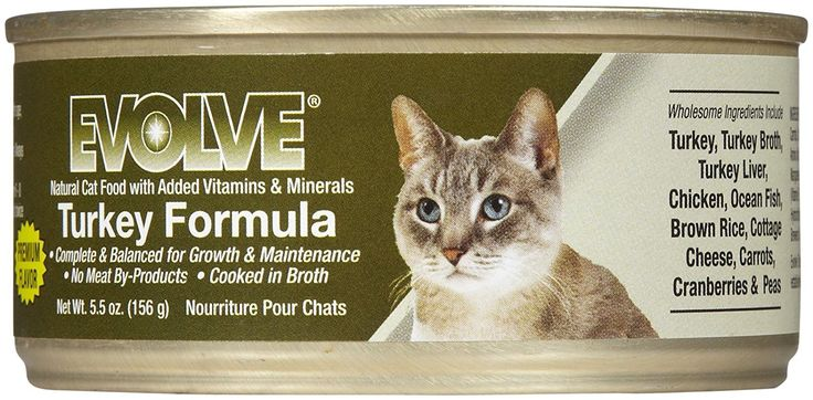 Evolve Canned Cat Food Ingredients