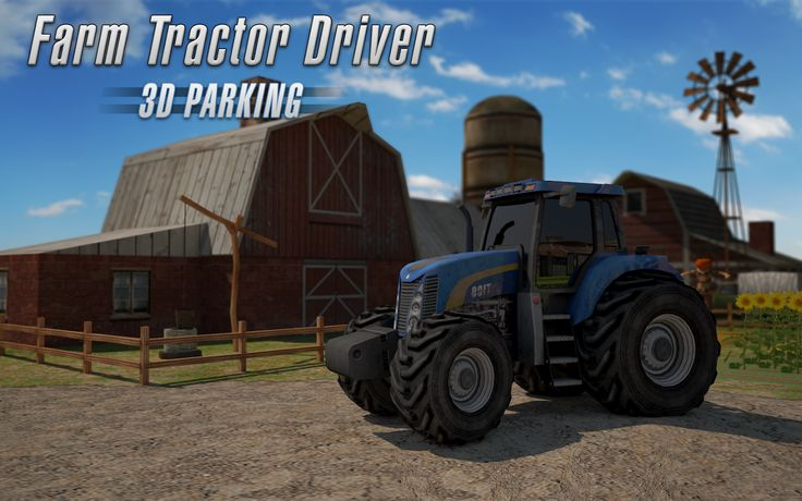 Play our new #Tractor #Parking #Game and prove you are worthy enough to go into the parking business!