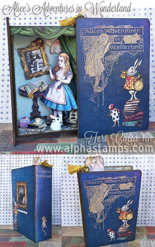 35 best alice in wonderland images on pinterest stamping Alice and wonderland art projects