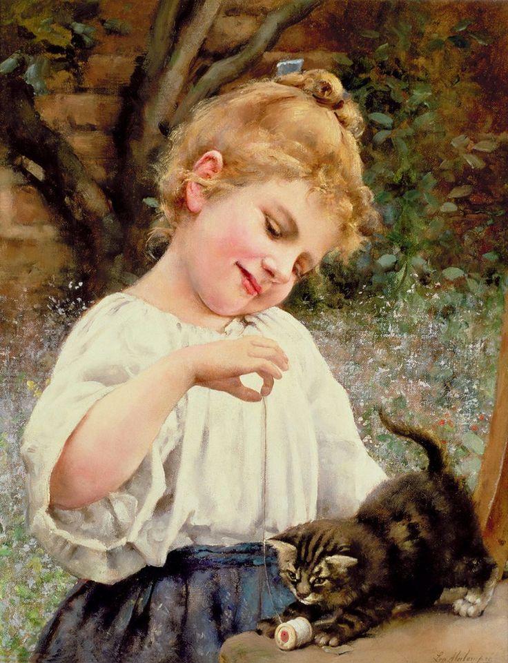 Дети и кошки. Часть- 1. « Николлетто