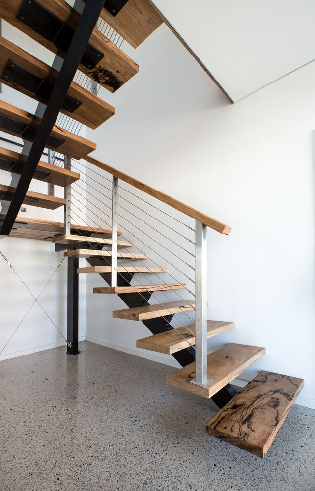 ndoor stairs in entrance hall by Jenna S. Photo contest entry using Miami Stainless products - vote for this photo now at https://www.facebook.com/miamistainless/app/476903445798909/?ref=page_internal