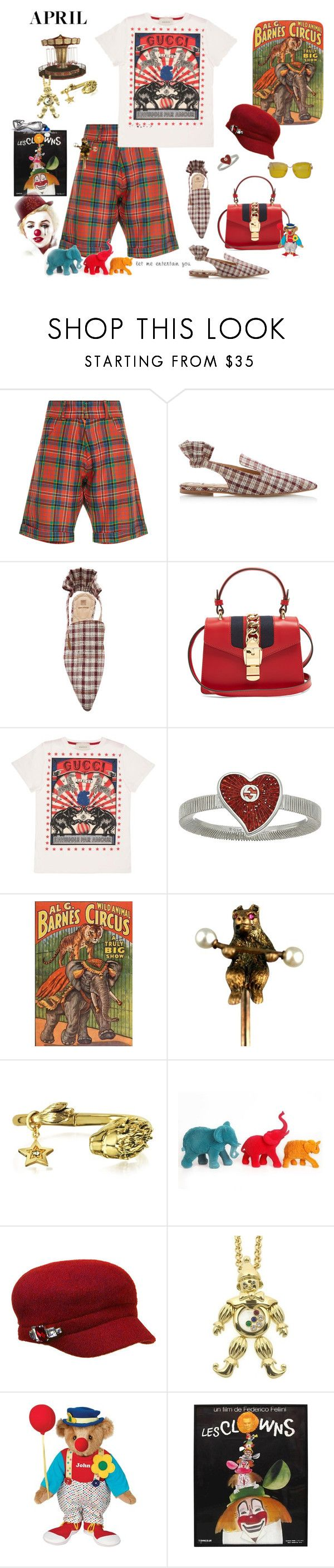 """""""April- Fashion Fool"""" by juliabachmann ❤ liked on Polyvore featuring Tata Naka, Rosie Assoulin, Gucci, Roberto Cavalli, Temerity Jones, Betmar and Chopard"""