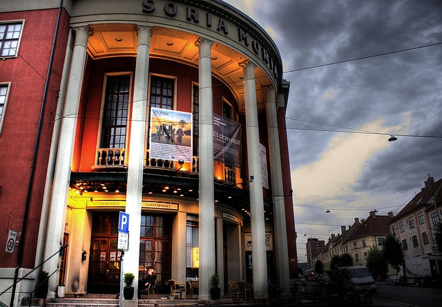 Soria Moria theater and landmark, Torshov, Oslo is the name of the area we will call home for two weeks.