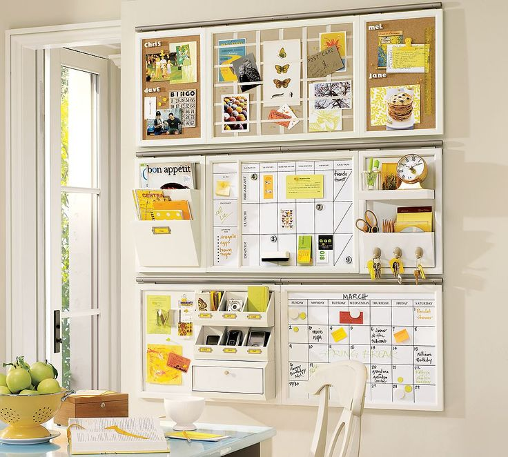 kitchen organizer...a little intense but pieces of it i like.