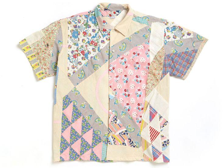 Cream Quilt Shirt