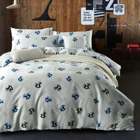 床品套件 100%棉 活性印花 马特 四件套
