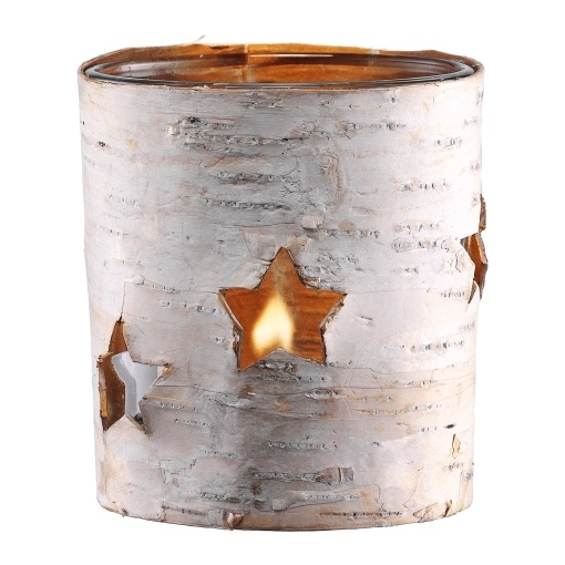 Bark Wrapped Candle Holder by Bodum: $3.95 #Candle_Holder #Bark_Wrapped_Candle_Holder