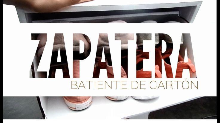 ZAPATERA DE CARTÓN | Shoe storage with cartboard