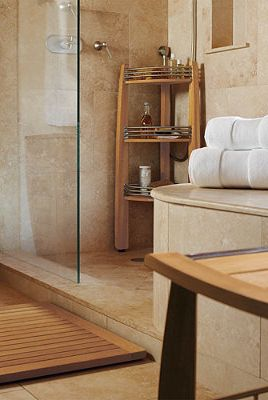 An elegant addition to your spa-inspired bath.