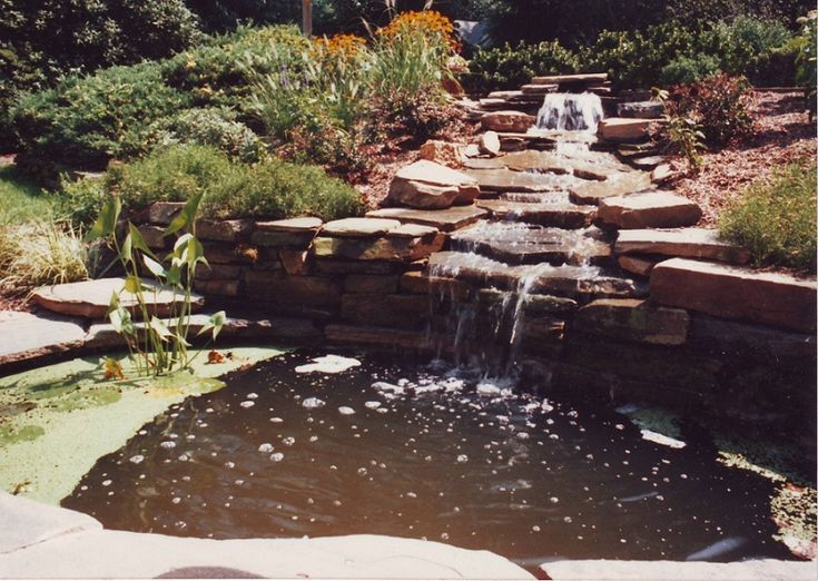 Design Of Retaining Walls Examples: 13 Best Cascading Water Feature Example Images On