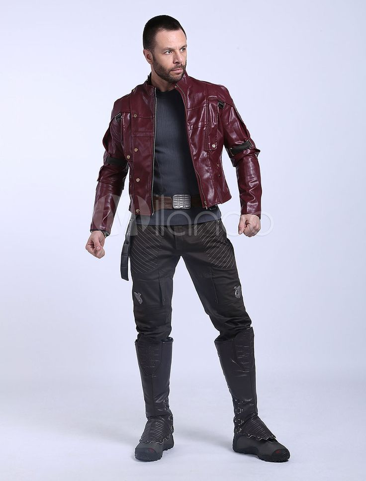 Guardians Of The Galaxy Star Lord Peter Jason Quill Halloween Cosplay Costume - Milanoo.com