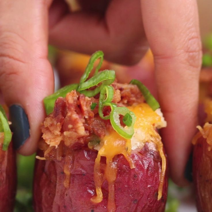 Mini Twice-Baked Potatoes