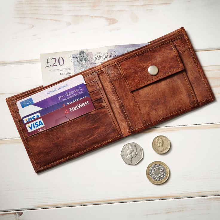 Leather Zip Around Wallet - NATURE SMILES WALLET by VIDA VIDA DPoIuvzq