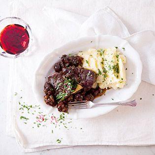 Gruß aus der Küche:  Rinderschmortopf mit Backpflaumen