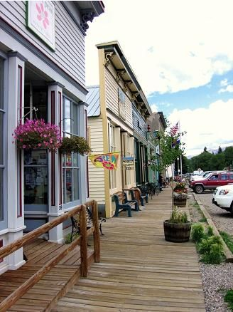 Lake City Design Guidelines: BusinessTreatment Area. Lake City, Colorado National Historic District.  Commercial Facades