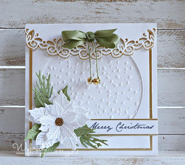 Cards made by Wybrich: Marianne Design challenge 160