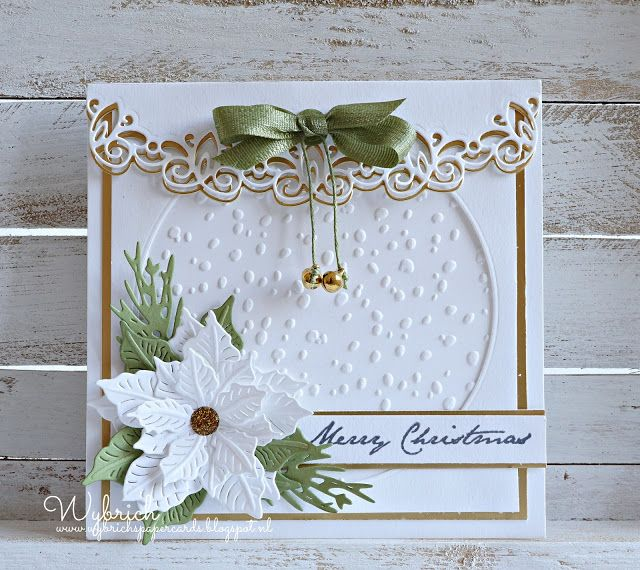Cards made by Wybrich: Marianne Design challenge 160