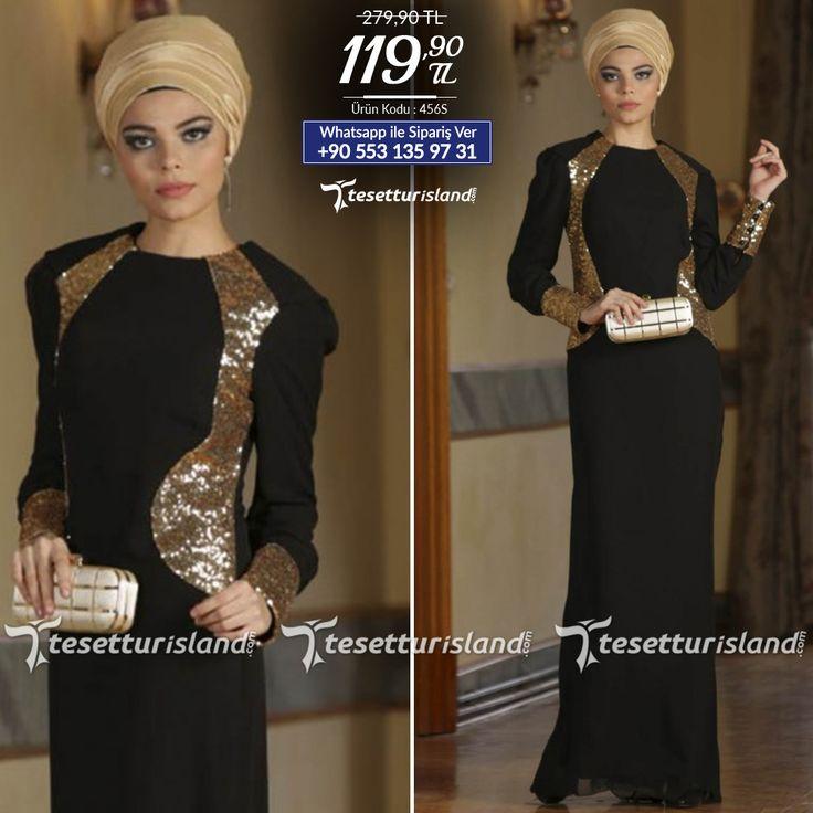 Nayla Collection - Payet Detaylı Siyah Elbise #tesettur #tesetturabiye #tesetturgiyim #tesetturelbise #tesetturabiyeelbise #kapalıgiyim #kapalıabiyemodelleri #şıktesetturabiyeelbise #kışlıkgiyim #tunik #tesetturtunik
