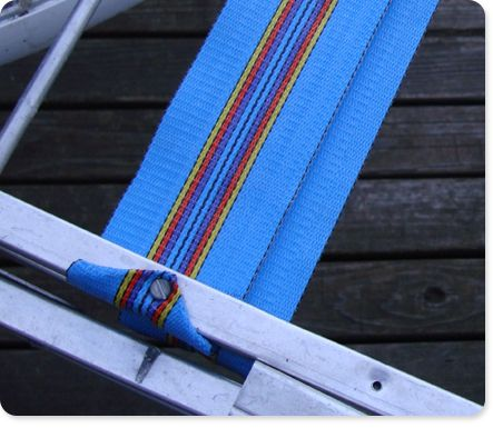Rewebbing A Lawn Chair. I Need To Repair Our Porch Swing That Is Only A
