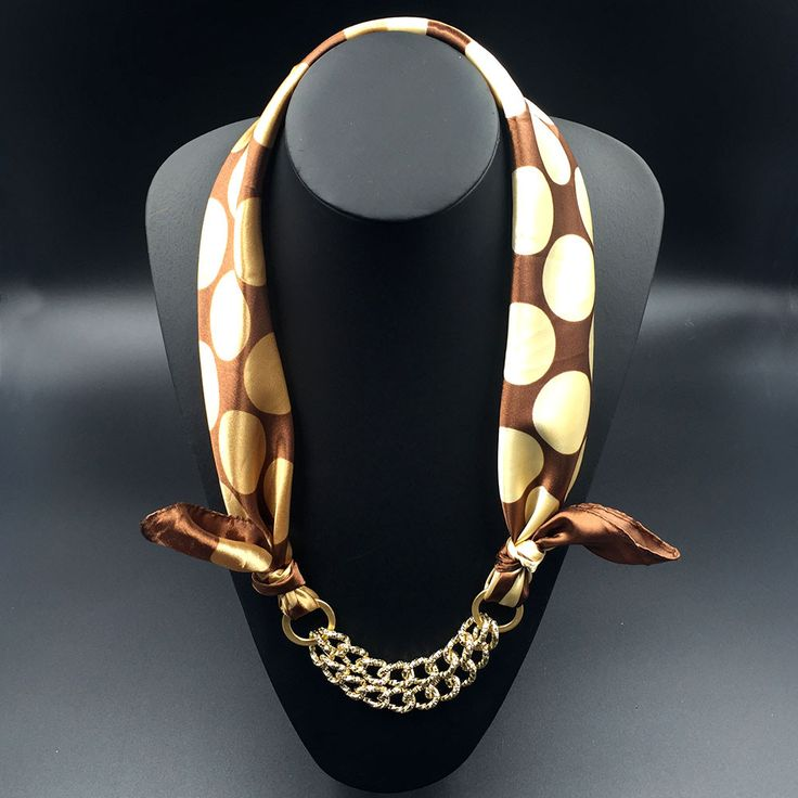 Luxurious Silk Scarf Necklace for women. Named after the Goddess Nerthus it has a feel of divinity and is simply a treat to your skin. This Scarf Necklace is made with the finest Silk Satin fibers and