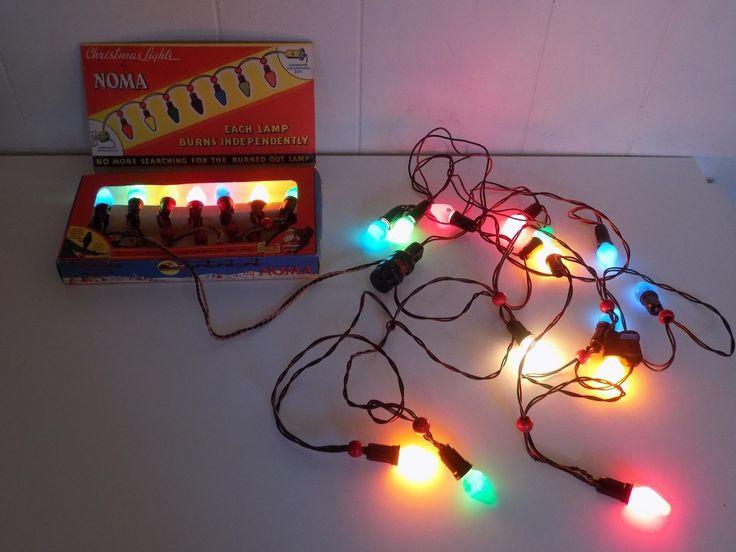Noma Christmas Lights 2 Strands 1 Box 1 Other Set