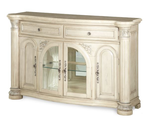 Valencia Carved Wood Traditional Bedroom Furniture Set 209000: Monte Carlo II Collection®