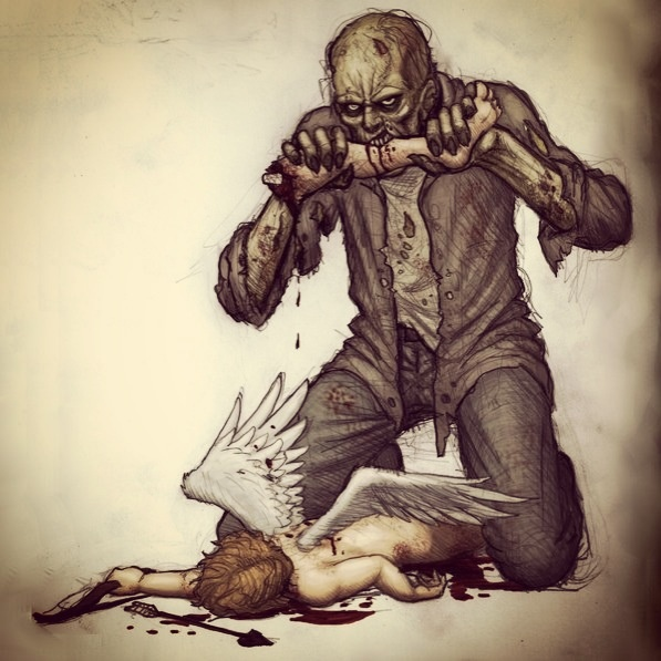 Zombies love cupid!