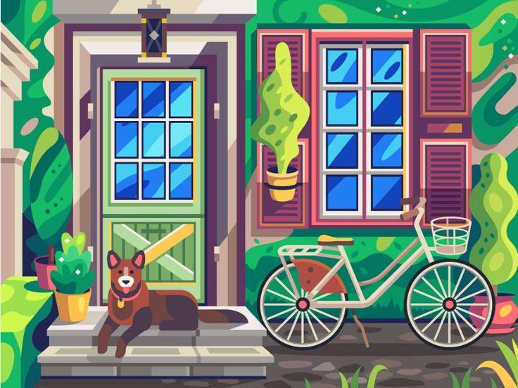 Собака   Раскраска по номерам, Картины, Раскраски
