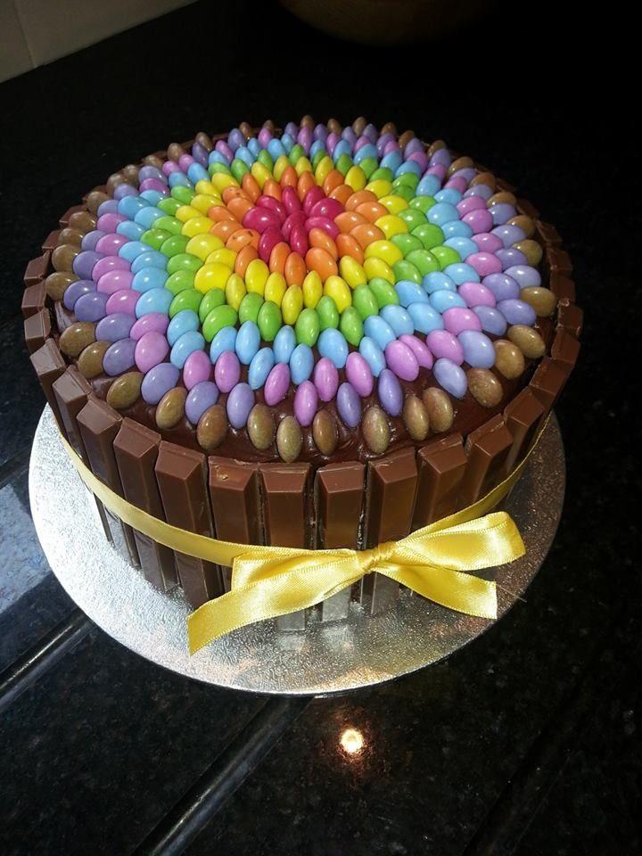 128 best Kit Kat Cakes images on Pinterest Kit kat cakes Cakes