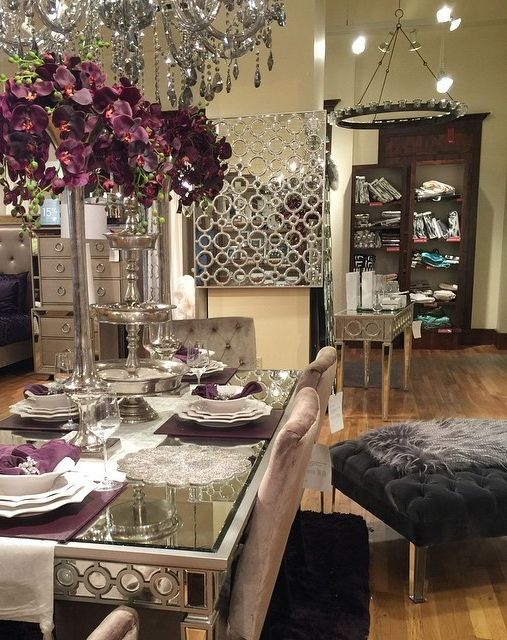 Stop in one of our stores to get inspired for fresh + elevated spring entertaining. Photo: @fleurs_interiors.