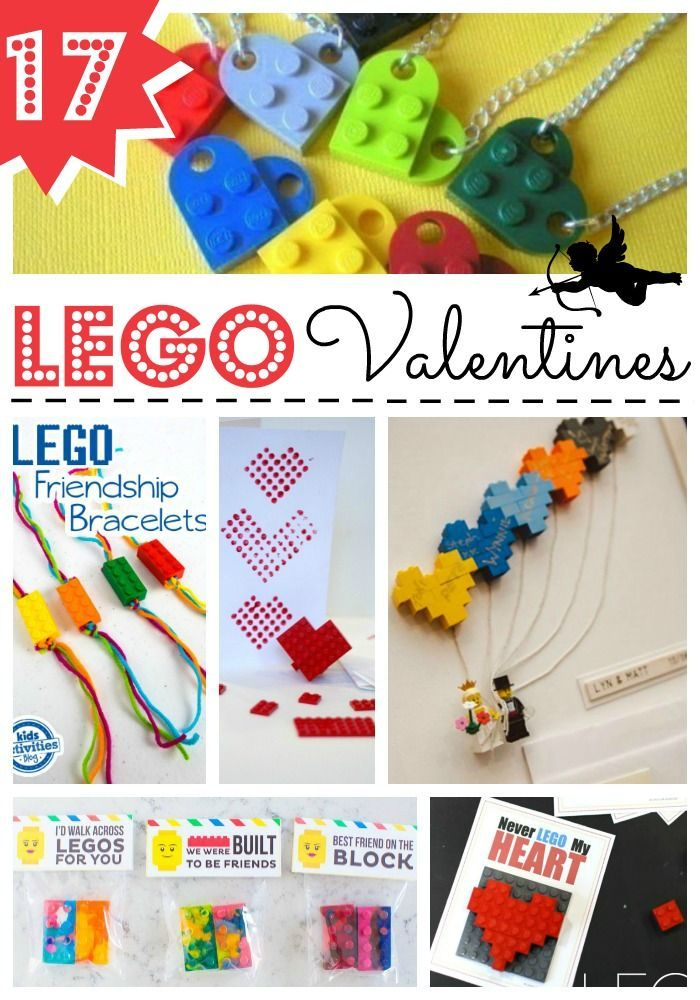 LEGO Valentines Day Ideas - we love LEGO and here are some great LEGO Valentine's Day ideas for LEGO fans. From Valentines Class gifts to printable LEGO Valentine Cards
