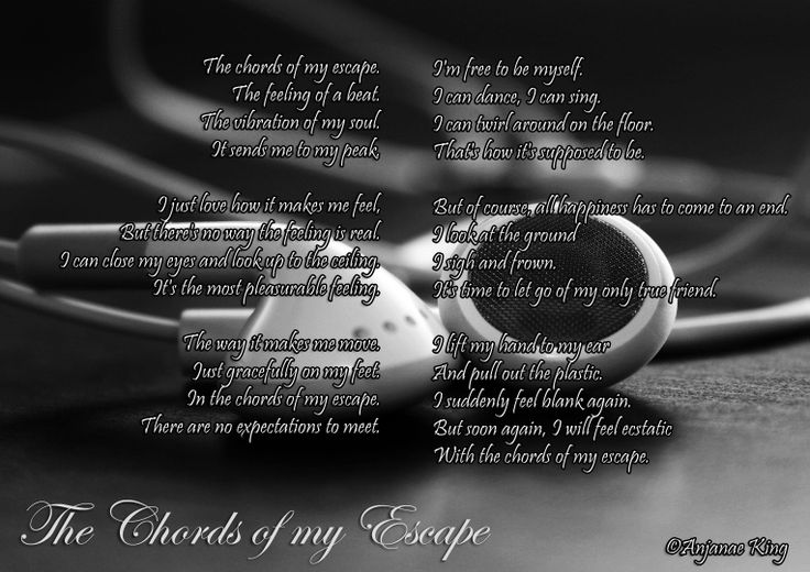 The Chords of My Escape Anjanae King Just love