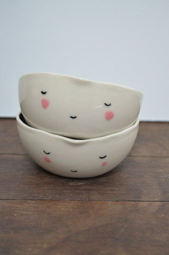 Ceramic face bowl
