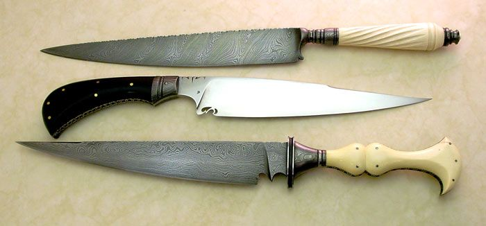 Hill Pearce 'Mediterranean' knives..