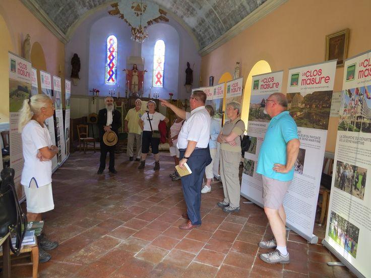 Visite commentée de l'église de Saint Crespin et exposition sur le Clos Masure - A la découverte des églises de nos villages 2015
