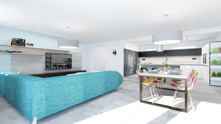 Flat, living room, apartment, maisonette, loft, residence, denná zóna, byt, mezonet, denní zóna