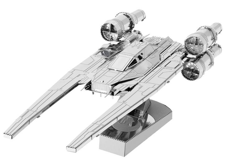 3D kovové puzzle METAL EARTH Star Wars Rogue One: Rebel U-Wing Fighter