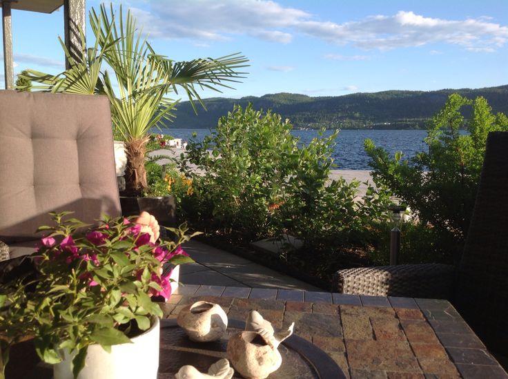 Sommer på Nordre Jarlsberg Brygge, Norway